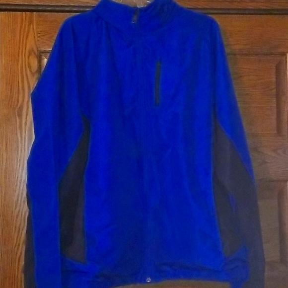 Mens lightweight zipup jacket